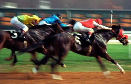 By MJ Boswell from Annapolis, Md, USA (Horse Race Finish Line) [CC BY 2.0 (http://creativecommons.org/licenses/by/2.0)], via Wikimedia Commons